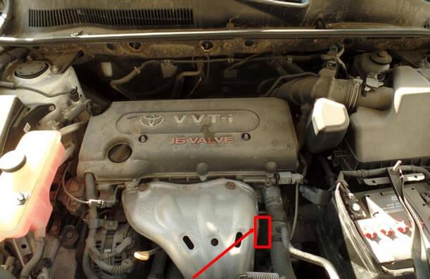 ubicacion numero de motor rav 4 2012