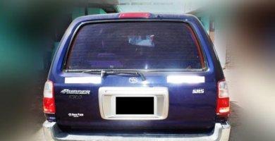 posterior 4 runner 2001